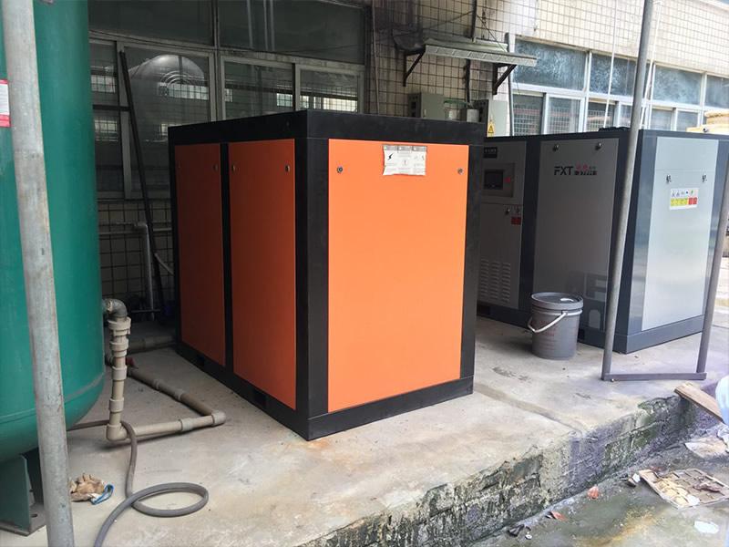 广州某某科技压缩机应用案例